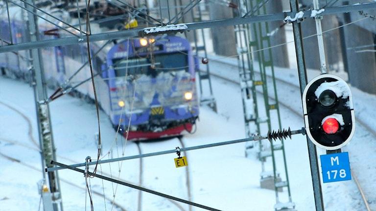 Tåg. Foto: Johan Nilsson/SCANPIX.