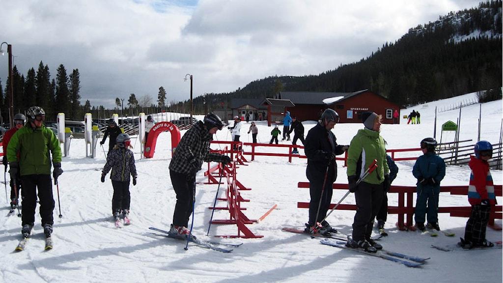 Skidturister i Klövsjö