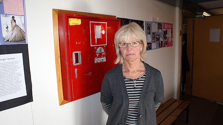 Eva Grundberg, rektor på Storsjöskolan. Foto Marcus Frånberg