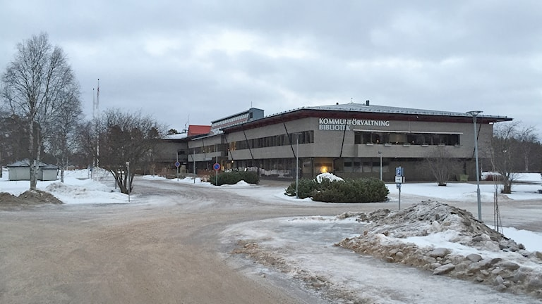 Härjedalens kommunförvaltning och bibliotek i Sveg