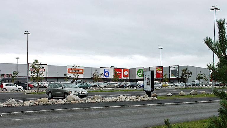 Lillänge handelscentrum, Östersund. Foto Jan Mårdberg