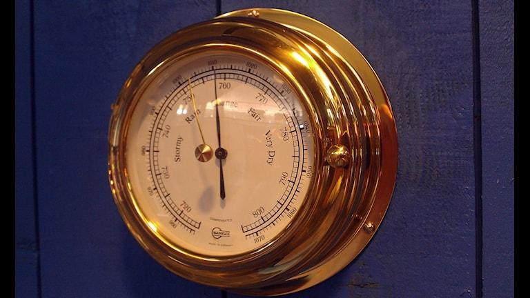 Barometer. Foto Staffan Andersson