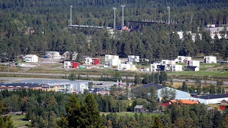 Villaområdet Tallbacken på Stadsdel norr. Foto: Jan Mårdberg/Sveriges Radio