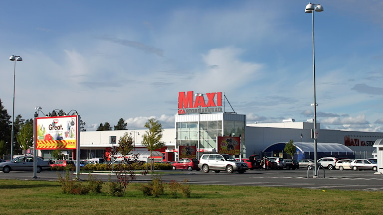 ICA Maxi stormarknad. Foto: Jan Mårdberg/Sveriges Radio