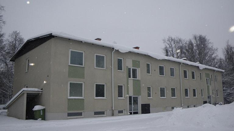 Hyreshuset som företagarföreningen i Rossön tar över från kommunen.Foto: Ann-Louise Rönestål Ek