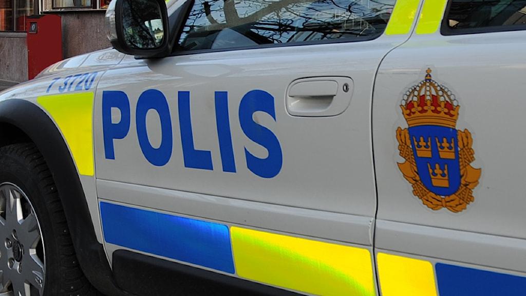 Polisbil Foto: Matts Nylander