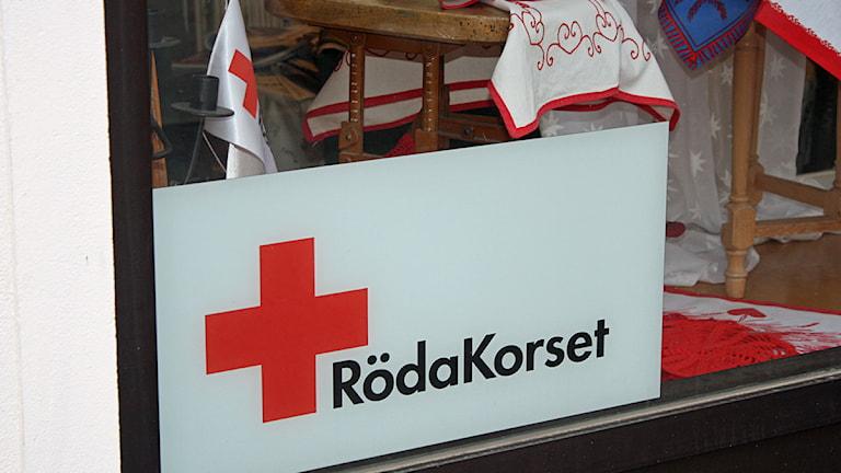 Röda korsets slykt i Strömsund. Foto: Emelie Andersson/Sveriges Radio.