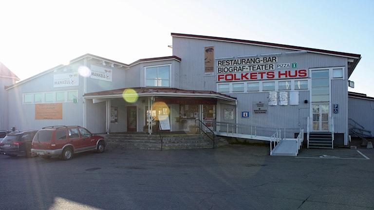 Folkets Hus i Sveg. Foto: Emelie Andersson/Sveriges Radio.