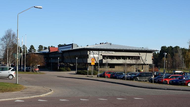 Kommunhuset i Sveg. Foto: Emelie Andersson/Sveriges Radio