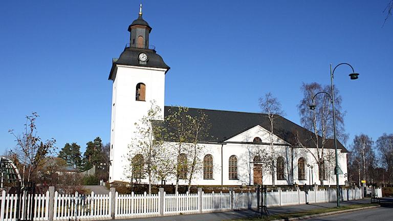Kyrkan i Sveg. Foto: Emelie Andersson/Sveriges Radio