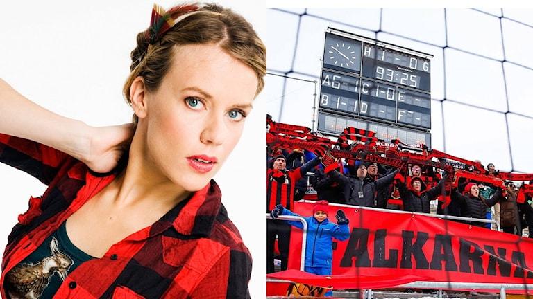 Annika Norlin & Falkarna - montage