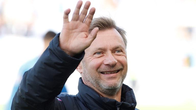 Peter Gerhardsson tar över som förbundskapten för damlandslaget under hösten 2017. Foto: Björn Olsson/TT