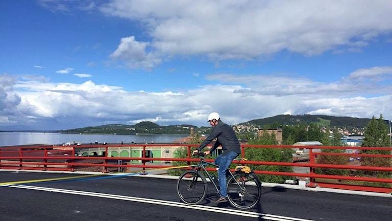 Invigning av viadukt