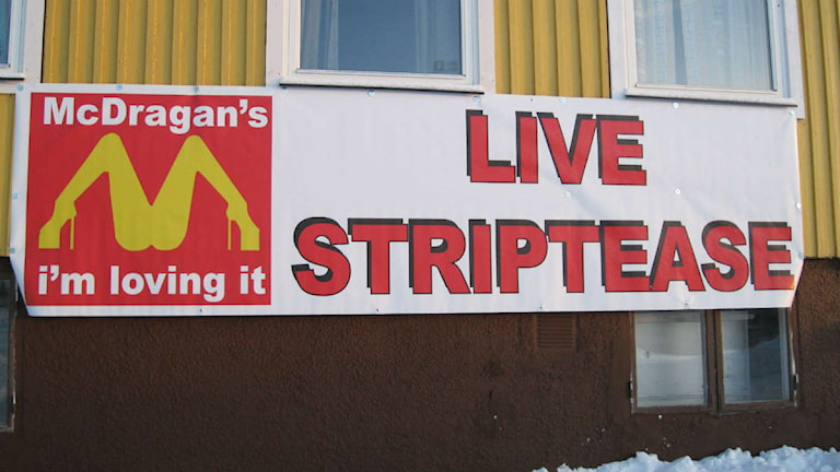 Strippklubb i Mörsil