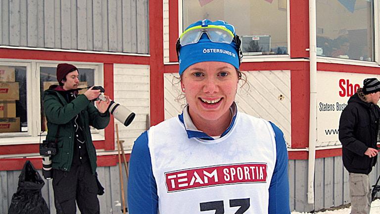 Sara Lindborg knep silvret