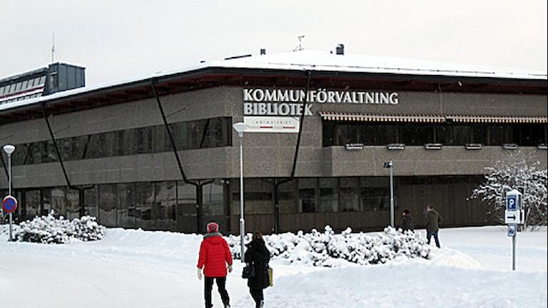 Kommunhuset Sveg. Foto Agneta Nilsson