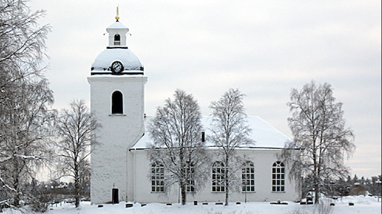 Kyrkan i Ytterhogdal. Foto Agneta Nilsson