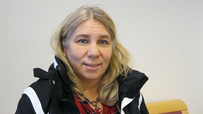 Karin Näsmark, ordförande i socialnämden i Strömsund. Foto Britt-Inger Hellström.