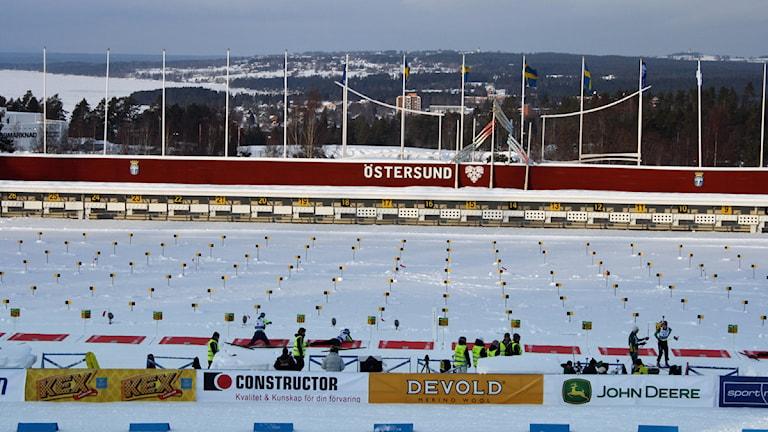 Skjutvallen Östersund skidstadion