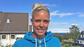 Erika Kinsey, höjdhoppare från Nälden