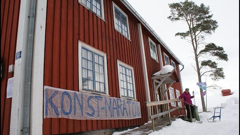 Konstmaraton i Järpens kulturhus