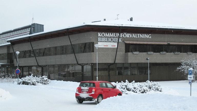 Svegs kommunhus. Foto: Agenta Nilsson