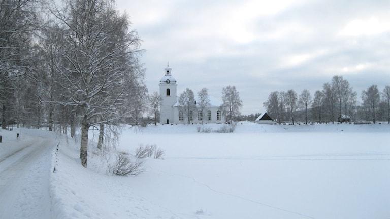 Kyrkan i Ytterhogdal. Foto: Agneta Nilsson