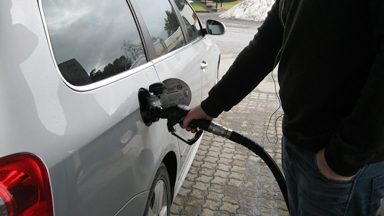 Trots ökade bränslepriser blir bilarna bara fler och fler. Foto: Johanna Vackdahl.