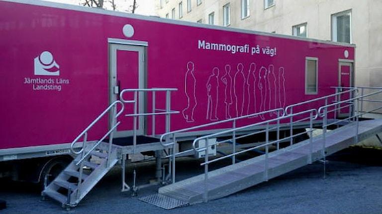 Den rosa mammografibussen