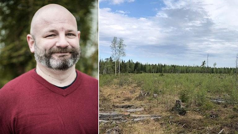 Porträttbild på Daniel Arvastsson