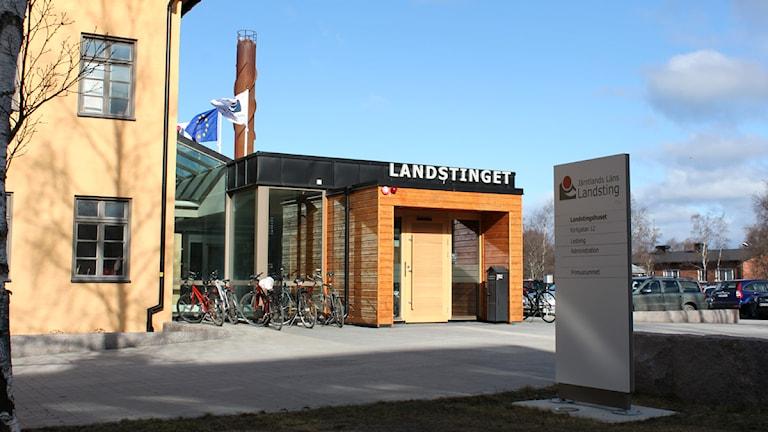 Landstinget Östersund. Foto: Jan Mårdberg/Sveriges Radio.