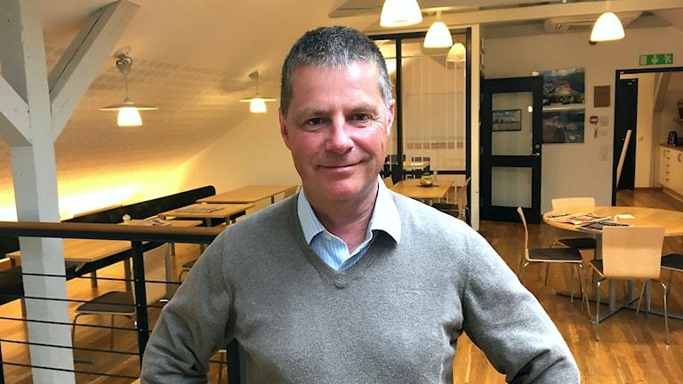 Platschef Lars Grundqvist Sikås trä, Norrskog