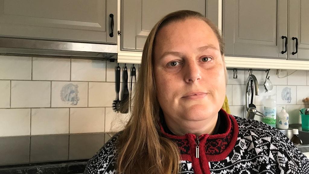Bodil Berggren kände sig tvingad att säga upp sin hemtjänst pga allergi