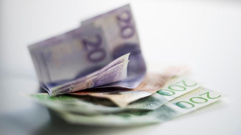 Pengar svenska sedlar
