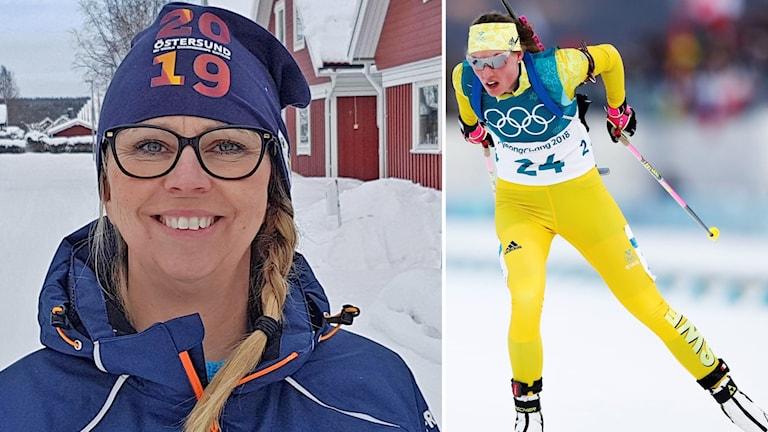 Jessica Bollnert och Hanna Öberg.