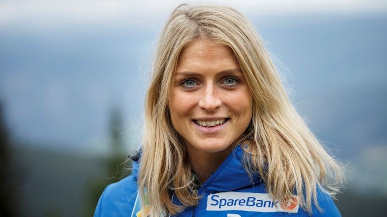 Norska skidåkaren Therese Johaug