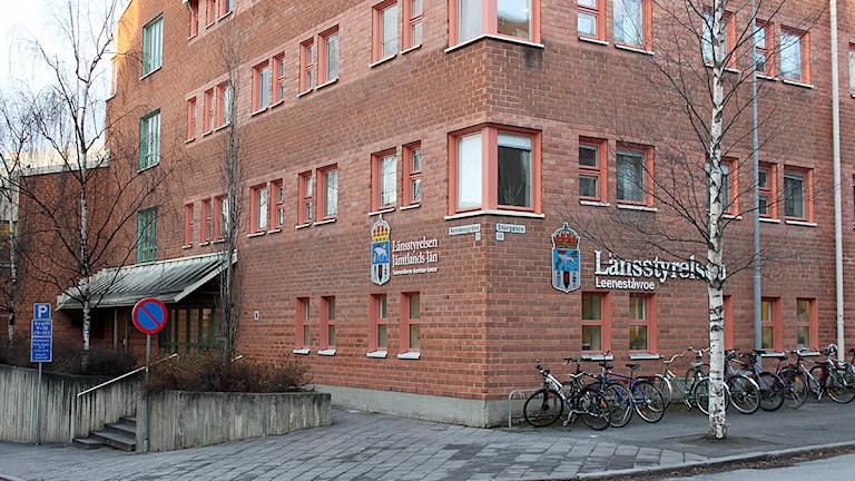 Länsstyrelsen Jämtlands län, Östersund Foto: Janne Mårdberg/Sveriges Radio
