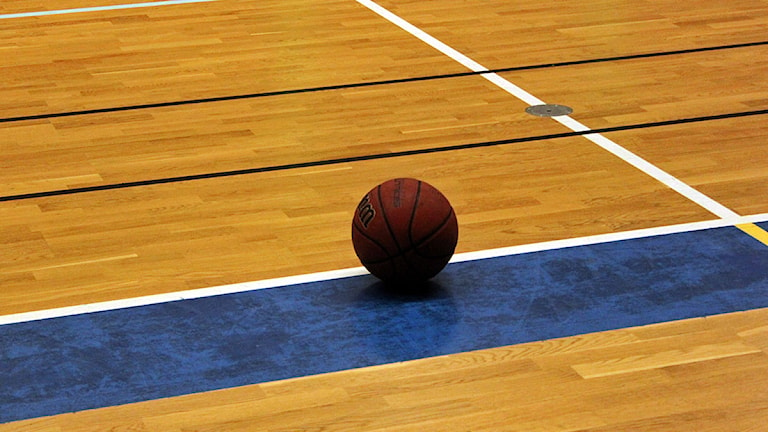 Basketboll Foto: Alf Levin/SR