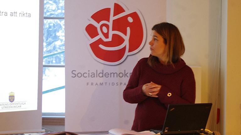 Anna-Caren Sätherberg socialdemokratisk riksdagsledamot