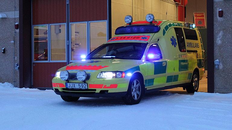 Ambulansutryckning Trygghetens hus