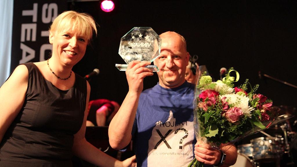 Dan Hellström med pris för länsseger i Svensktoppen nästa 2016