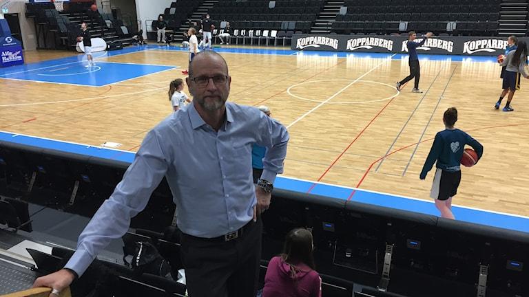 Torbjörn Gehrke, tränare Jämtland basket.