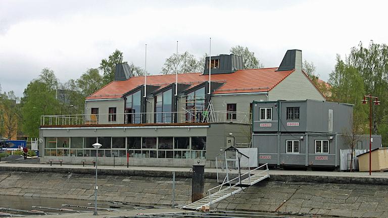 Här på restaurang Marité i centrala Östersund utspelade sig händelsen.