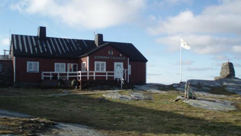 Blåhammarens fjällstation. Foto: Annelie Lanner/Sveriges Radio.