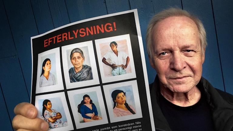 Filmaren Kurt Skoog från Tandsbyn efterlyser minnen kring målningar av Nils Dardel.