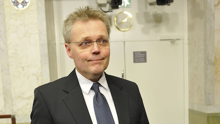 Jöran Hägglund. Foto Bertil Ericson / SCANPIX.