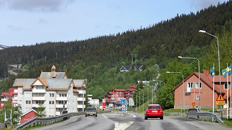 E14 genom Åre