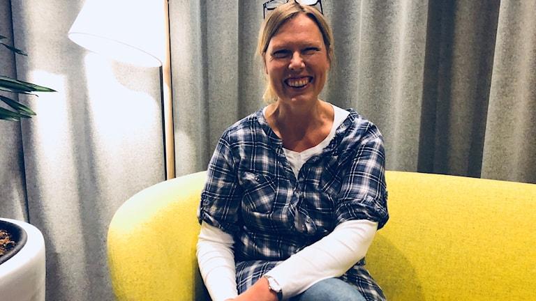 Författaren Ingrid Marie Thorslund