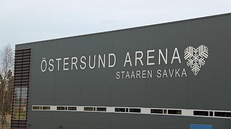 Östersund Arena. Foto:Janne Mårdberg/Sveriges Radio.