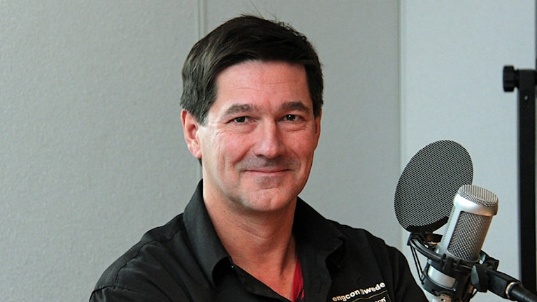 Stig Engström. Foto: Janne Mårdberg/Sveriges Radio